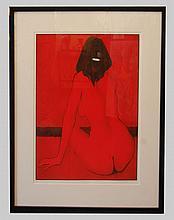 Meeker Dean (American 1920-2002)  Sandra