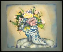 Citrin Ione (American 1938-)  watercolor on paper