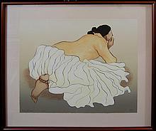 Gorman Rudolph Carl (American 1932-2005)  lithograph