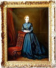 Chase William Meritt  (3American 1849-1916) Attrib. Lady in the House