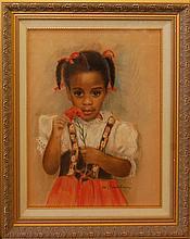Baudaux Monique (Belgian 1931-2009) Abby