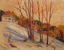Dery Alex (American 20th c) Winter Ohio