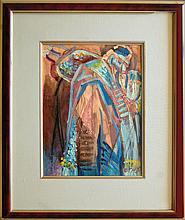 Longstreet Stephen (American 1907-2002) : Torah