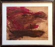 Bolles Robert (American 20th c): Abstraction 1962