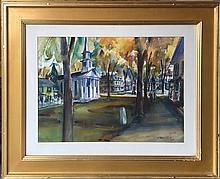 O'Malley Joseph Melvin (American 1903-1991): LA Street