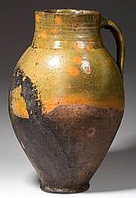UNIDENTIFIED EARTHENWARE PITCHER