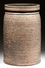 EMANUEL SUTER, ROCKINGHAM CO., SHENANDOAH VALLEY OF VIRGINIA STONEWARE JAR