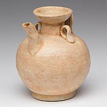 CHINESE SONG DYNASTY POTTERY WINE POT