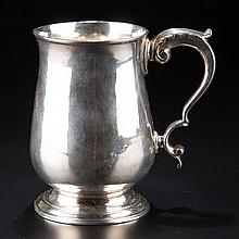 GEORGIAN LONDON BATEMAN FAMILY STERLING SILVER CANN