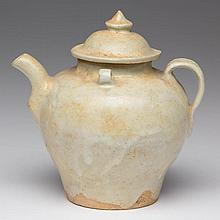 CHINESE SONG DYNASTY POTTERY YINQING WARE WINE POT