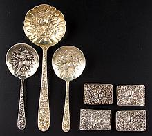 ASSORTED S. KIRK & SON STERLING SILVER ARTICLES, LOT OF SEVEN