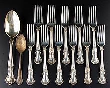 GORHAM STERLING SILVER FLATWARE ARTICLES, LOT OF 13