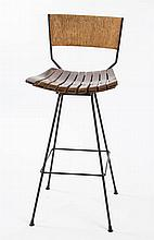 ARTHUR UMANOFF FOR RAYMORE MID-CENTURY MODERN BAR STOOL