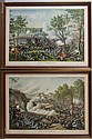 KURZ & ALLISON CIVIL WAR COLOR LITHOGRAPHS, LOT OF TWO