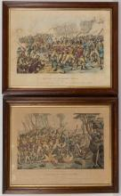 AMERICAN REVOLUTIONARY WAR HISTORICAL PRINTS