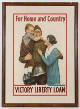 AMERICAN HISTORICAL WORLD WAR I POSTERS, LOT OF TWO