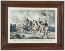 AMERICAN HISTORICAL MILITARY PRINT