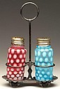 COINSPOT PAIR OF SALT AND PEPPER SHAKERS