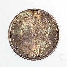 UNITED STATES 1883-CC SILVER MORGAN DOLLAR COIN.