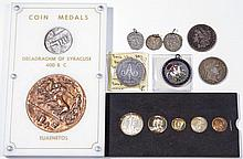 ASSORTED COINAGE AND RELATED ARTICLES
