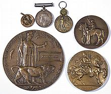 ASSORTED HISTORICAL MEDALLIONS, LOT OF SIX