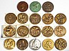 SOCIETY OF MEDALISTS BRONZE MEDALLIONS, LOT OF 18