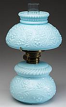 EMBOSSED FLORAL PATTERN MINIATURE LAMP