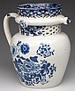 CAMBRIAN (WELSH) PEARLWARE PUZZLE JUG