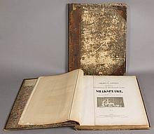 BOYDELL'S SHAKESPEARE GALLERY OVERSIZED FOLIOS, TWO VOLUMES