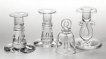 ASSORTED CONTEMPORARY STEUBEN ARTICLES, LOT OF FOUR