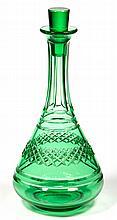 STEUBEN CUT GLASS DECANTER