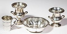 AMERICAN STERLING SILVER TABLE ARTICLES, LOT OF FOUR