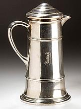FRANK M. WHITING & CO. STERLING SILVER COCKTAIL SHAKER