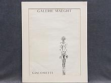 ALBERTO GIACOMETTI (ITALY 1901-1966), LITHOGRAPH
