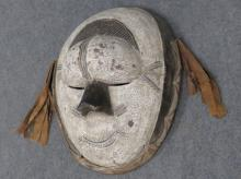 MUMUYE, NIGERIA, CARVED AND PAINTED DANCE MASK