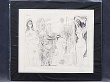 AFTER PABLO PICASSO (SPANISH 1881-1973), ETCHING