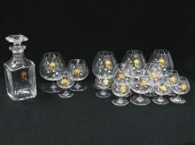 SET BACCARAT CRYSTAL COGNAC DECANTER