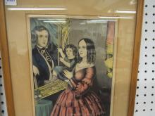 N. CURRIER (AMERICAN 19TH CENTURY), LOT (2) LITHOGRAPH,