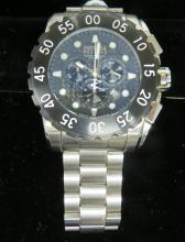 INVICTA RESERVE STAINLESS LEVIATHAN MODEL 1957, QUARTZ CHRONOGRAPH WRISTWATCH (53MM)