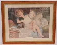ADVERTISING LITHOGRAPH, PEAR'S SOAP