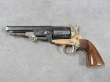 RICHLAND ARMS CO. MODEL 1851 NAVY .44 CAL BLACK POWDER PERCUSSION REVOLVER, BL 4 7/8