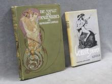 LOT (2) VOLUMES INCLUDING WERBLICHE SCHONHEIT (FEMALE BEAUTY), DR. BRUNO MEYER KLEMM AND BECKMANN, 1904; DIE ANMUT DES FRAUENLERBES (GRACE OF WOMEN'S LOVE), DR. F. KRAUSS, A. SCHUMANN 1904