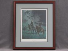 MORT KUNSTLER (AMERICAN 20TH CENTURY), CIVIL WAR OFFSET LITHOGRAPH,