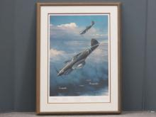 WILLIAM S. PHILLIPS (AMERICAN 20TH CENTURY), WWII AVIATION OFFSET LITHOGRAPH,