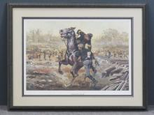 DON STIVERS (AMERICAN 20TH CENTURY), CIVIL WAR OFFSET LITHOGRAPH,