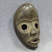 DAN, IVORY COAST CARVED GUNYEYE RUNNER MASK