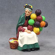 ROYAL DOULTON, THE OLD BALLOON SELLER, #1315