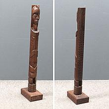 CONGO CARVED HARDWOOD FIGURE
