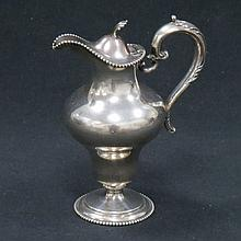 FRANK SMITH STERLING CREAM POT