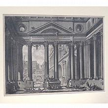 GIOVANNI PIRANESI (ITALY 1720-1778), ETCHING